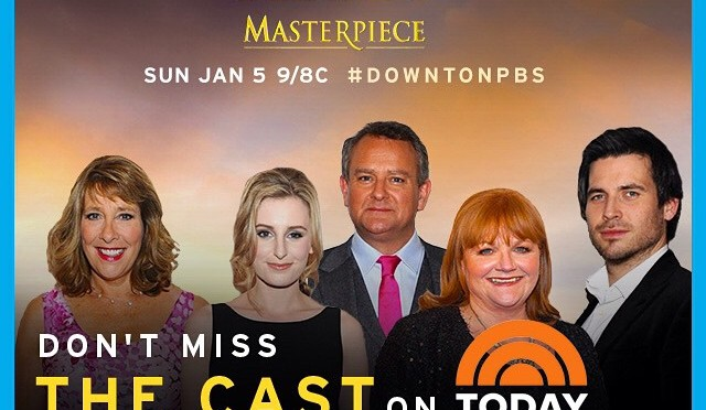 Downton on TODAY